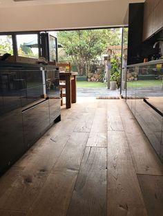 Heavy Brushed Smoke European engineered Oak flooring code 8 from £49 a metre. #smokedoakflooring #engineeredoakfloor