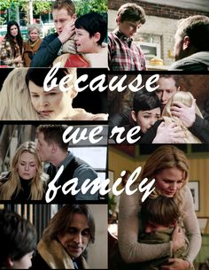 Because we're family - Once Upon a Time/Charmings fan art
