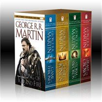 George R.R. Martin's A Song of Ice and Fire.