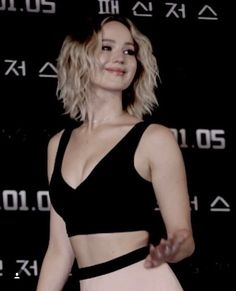 Jennifer Lawrence promoting Passengers