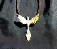 0d910c270 Phoenix bird necklace mothers day jewelry exotic bird Greek Open Wings, Dove  Bird, Phoenix