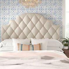 Luxury Bed Linens For Less Wingback Headboard, Panel Headboard, Door Headboards, Hooker Furniture, Bedroom Furniture, Furniture Design, Bedroom Decor, Adjustable Beds, Tufting Buttons