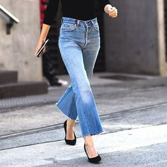 Forget closet staple—Fall's headlining jeans have all the makings of fashion heavy-hitters. Reworked, deconstructed and a with a dash of 90's edge combine for next-level appeal. Head to our Denim Shop on site for more #STYLEBOPdenimshop •    #streetstyle #jeans #denim #heels #jeansandheels #courts #flatlay #flatlays #flatlayapp www.flat-lay.com