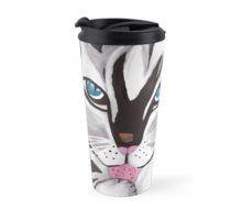 Big Beautiful Cat Travel Mug Travel Mugs, Big And Beautiful, Cups, Shopping, Design, Mugs, Tumblers, Design Comics