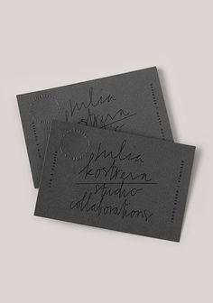 2015 stationery set design by Julia Kostreva Graphic Design Studio, Logo Design, Graphic Design Typography, Graphic Design Inspiration, Layout Design, Print Design, Design Design, Design Cards, Card Designs