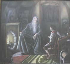 FRODO AND GANDALF BY SCOTT PERRY