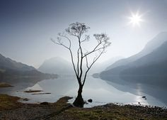 Morning Mist on #Buttermere, #LakeDistrict. Martin Lawrence Photography.
