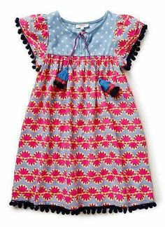 Inspiration for an Oliver + S Hide-and-Seek dress