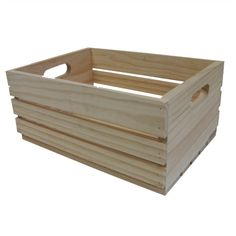 $40  RAW - Boyle 44 x 32 x 20cm Large Craft Fruit Crate at Bunnings