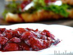 Bake&Taste: Sos truskawkowy z octem balsamicznym