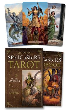 Modern Spellcasters Tarot: Amazon.es: Melanie Marquis, Scott Murphy: Libros en idiomas extranjeros