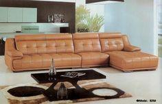 Yellow Leather Corner Sofas