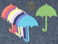 RAIN UMBRELLA small die cuts