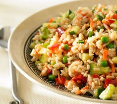 Thrifty Foods - Recipe - Brown Rice and Vegetable Salad with Miso Dressing