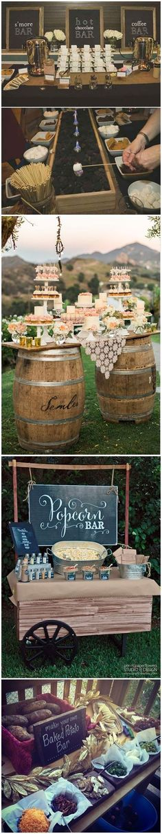 Wedding Ideas » Wedding Food » 28 Mouth-watering Wedding Food/Drink Bar Ideas for Your Big Day » ❤️ See more: http://www.weddinginclude.com/2017/05/mouth-watering-wedding-fooddrink-bar-ideas-for-your-big-day/