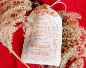 Custom Seed Bomb Wedding Favors « Visualingual...Love seed bombs!