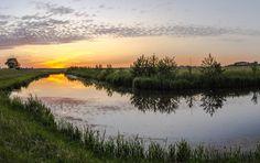 Natuurfoto Oost-Groningen: Mooie kleuren in de Gaast.