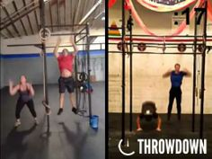 Watch Hoon and Graeme from CrossFit Palo Alto and Joanie and Josh from CrossFit San Leandro go head-to-head!