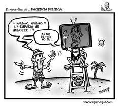 En esos días de ... PACIENCIA POLÍTICA / Elpeneque / HUMOR GRÁFICO & CARICATURAS