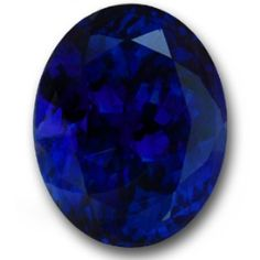 Utterly outstanding, a true investment grade Tanzanite. Surpassing even the very finest Kashmir cornflower blue Sapphire. Glittering with life, the deepest most explosive color saturation possible. Flawless & professionally cut. An extremely rare & extremely beautiful Tanzanite of the very finest pedigree. 16.69 carat oval.