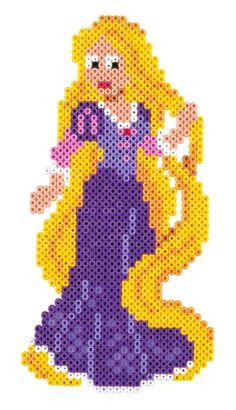 Rapunzel (Tangled) Hama Beads 7943