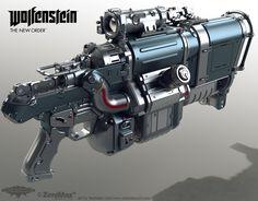 ArtStation - Laserkraftwerk, Nicholas Cort