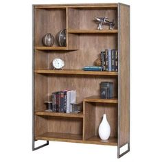 Beau Martin Furniture Belmont Bookcase In Bushed Ash