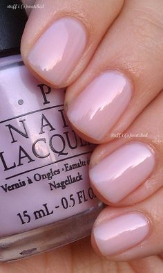 opi nail polish OPI Care to Danse? More opi nail polish Do It Yourself Nails, How To Do Nails, Trendy Nails, Cute Nails, Neutral Nails, Pale Pink Nails, Short Pink Nails, Short Round Nails, Neutral Colors