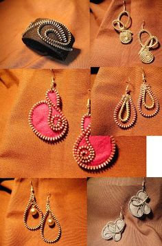 http://www.dressesforbabygirls.com/category/zippity-zip/ earring with felt and…
