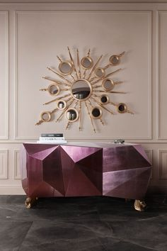 Exclusive sideboards are necessary in order to create a luxury home. These exquisite items are able to upscale any living room or dining area. #bocadolobo #luxuryfurniture #interiordesign #designideas #livingroom #modernlivingroom #decorideas #homeandecoration #livingroomideas #interiodesign #decor #homedecor #livingroomdecor #interiordesigninspiration #interiorinspiration #luxuryinteriordesign #homedecor #decorations #homedecor #buffetsandcabinets Luxury Interior Design, Interior Design Inspiration, Design Ideas, Design Projects, Modern Hallway, Modern Sideboard, Sideboard Decor, Hallway Decorating, Dining Room Design