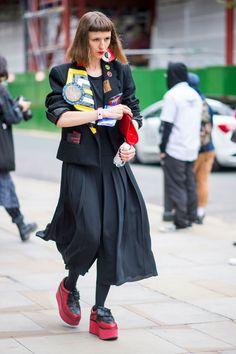 I look più strani sfoggiati dalle fashioniste di Londra