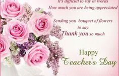 Teacher's day Speech - Best Speech September) Happy Teacher's Day Speech Teachers' Day is celebrated in India since . Greetings For Teachers Day, Teachers Day Card Message, Thoughts For Teachers Day, Teachers Day Card Design, Teachers Day Status, Teachers Day Pictures, Quotes On Teachers Day, Teachers Day Speech, Happy Teachers Day Wishes