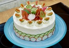 Sachin stood out during bread week with his cake take on this classic sandwich. Muffuletta Sandwich, Sandwich Cake, Sandwich Recipes, Sandwiches, Cream Cheese Icing, Cake With Cream Cheese, Creamed Cucumbers, Salad Rolls, Ice Cake