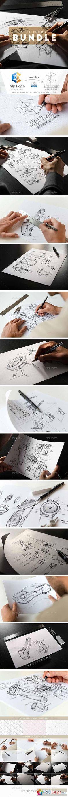 Sketch Mock-Up Bundle 11469539