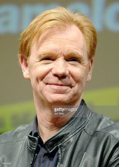 Actor David Caruso attends 'CSI: Miami' press conference at Park Tower Hall on December 18, 2007 in Tokyo, Japan.
