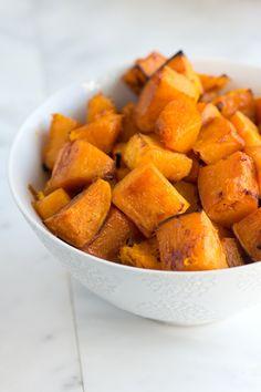 Cinnamon Roasted Butternut Squash Recipe. ☀CQ #glutenfree #nonGMO