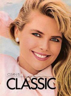 1988 (  Brand : Covergirl    Model : Christie Brinkley