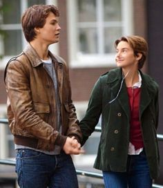 Augustus waters and Hazel grace Lancaster Hazel Et Augustus, Augustus Waters, Movies Showing, Movies And Tv Shows, Fault In The Stars, Hazel Grace Lancaster, Shailene Woodly, Boom Clap, Ansel Elgort