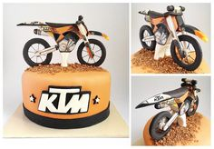 KTM Cake. This would be cute for my birthday cake :)