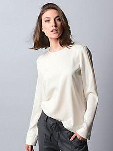 Strenesse - Schlupf-Bluse STRENESSE - Die neuen Trends von STRENESSE. Elegant in die kalten Tage starten! #STRENESSE -  http://www.outletcity.com/de/metzingen/marken-outlet-strenesse/