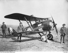 No.2 Squadron De Havilland DH-5 scout plane 1917 (photo source: Australian War Memorial)