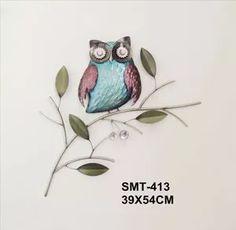 enfeite de metal para parede borboletas 19x75cm - bom years