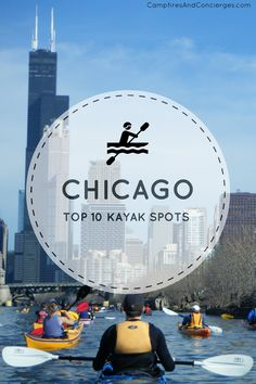 Planning a summer trip to Chicago? Why not add kayaking to your Chicago summer itinerary? These are my favorite spots for kayaking in and around Chicago - plus Chicago Kayak rental options. Usa Travel Guide, Travel Usa, Travel Guides, Travel Tips, Las Vegas, Road Trip, Chicago Illinois, Chicago Chicago, Visit Chicago