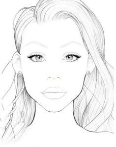 Blank Face Chart