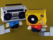 DuoSoundz - BoomBox and TurnTables Free Paper Toys Download
