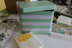 Pink Paper Bakery: Stampin' Up! Tin of Cards kit: Tips and tricks