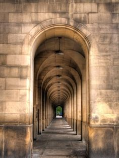 Archway through Manchester, England Posters van Robin Whalley bij AllPosters.nl