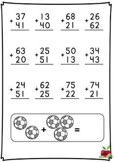 Cuaderno de calculo sencillo - Imagenes Educativas 2nd Grade Math Worksheets, Math Workbook, Kindergarten Math Worksheets, School Worksheets, 1st Grade Math, Math Activities, Maths, Teaching Kids, Kids Learning
