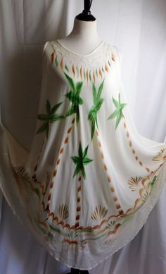 A personal favorite from my Etsy shop https://www.etsy.com/listing/513373307/vintage-70s-bohemian-tent-dress-white