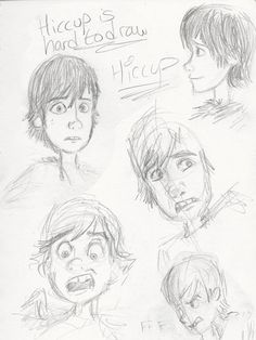 Faces of hiccup